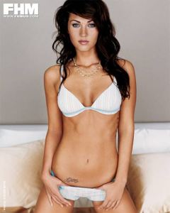 My new motivation, Megan Fox has a 22inch waist