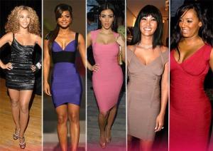 Beyonce, Christina Milian, Kim Kardashian, Kimora Lee Siommons, Mel B