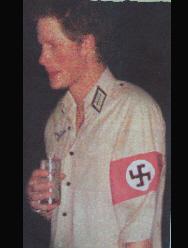 Harry in his Nazi costume